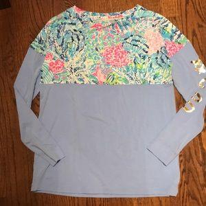 Lilly Pulitzer Finn Top tshirt XXS